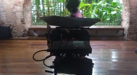 Making of gravação do clipe Beijo de Beira 5 - créditos Ismael Fagundes
